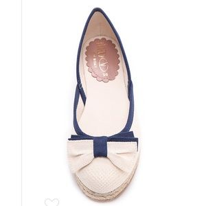 💙RED Valentino Nautical Bow Flats MSRP $295!